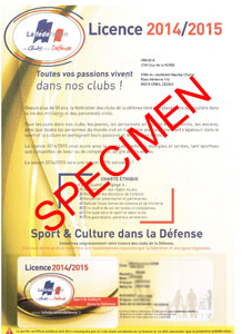 LICENCE 2014 2015